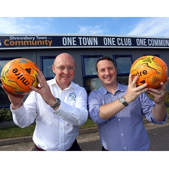 PIPEKIT SIGNS UP TO SHREWSBURY TOWN'S FRIENDS IN THE COMMUNITY PROGRAMME