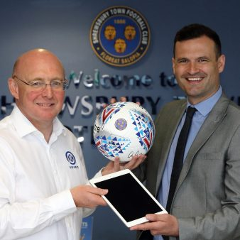 PIPEKIT BUILDS ON PARTNERSHIP WITH SHREWSBURY TOWN