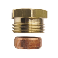 ART1504 BSPP to Copper Adpt for Radiator Valves