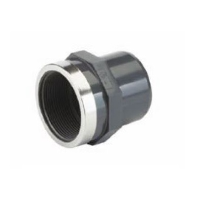 TP PVC-U Threaded Adaptor Rp Plain- Threaded