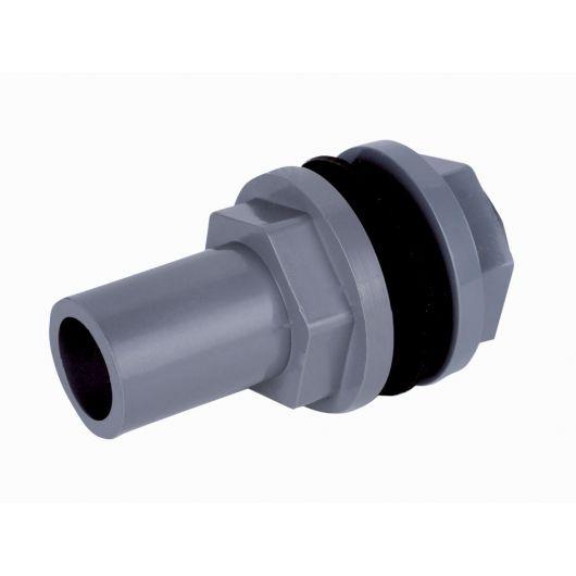 Tank Connector Plain Spigot-Male BSP
