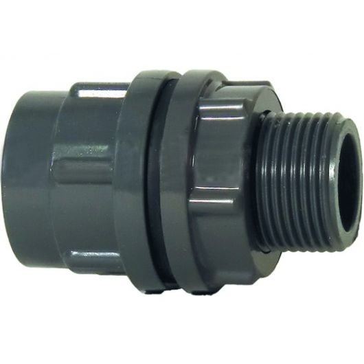 Tank Connector with Parallel Female Thread