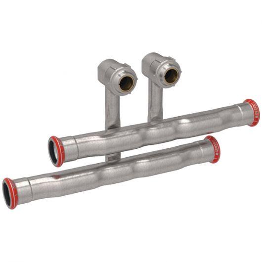 T-Piece Set Inlet & Return Flow Union Connector