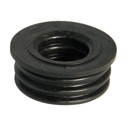 FloPlast Black PVC-U Rubber Push-Fit Boss Adaptor