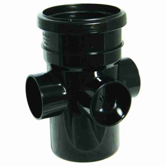FloPlast Black PVC-U Boss Pipe
