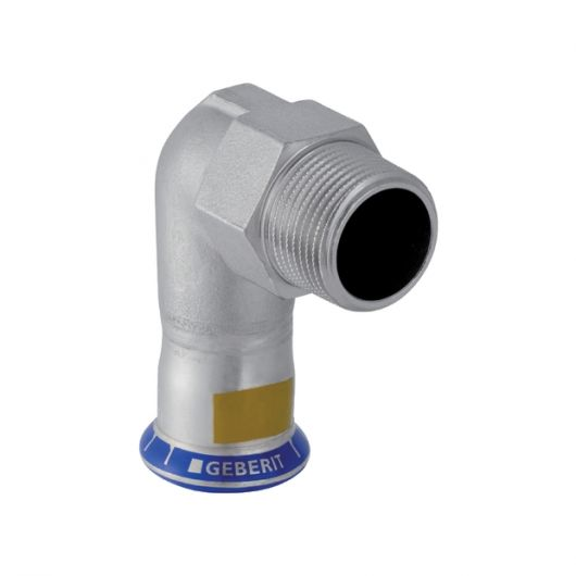 Elbow Adaptor 90¦ with Male Thread (Gas)