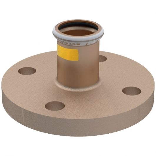 Flange PN 10-16  with Pressing Socket