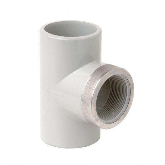 Corzan Tee 90 Deg Thd Branch  Reinforcing Ring
