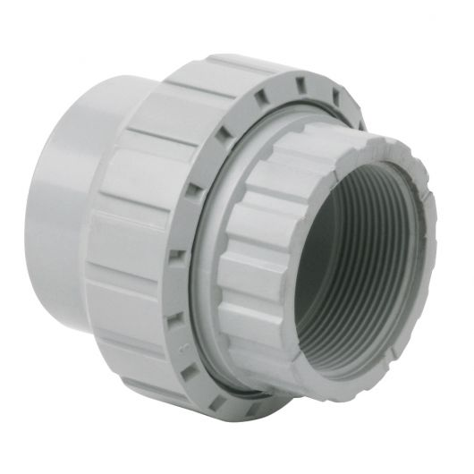 Corzan Socket Union Plain Threaded