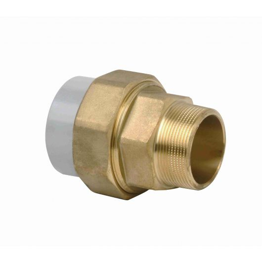 Corzan Composite Union Brass Male Thread