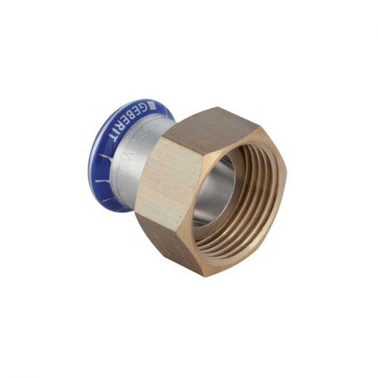 Adaptor with Union Nut (FKM  Blue)