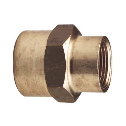 Adapt Socket Brass- F