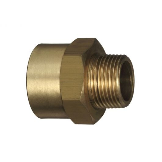 Adapt Socket Brass- M
