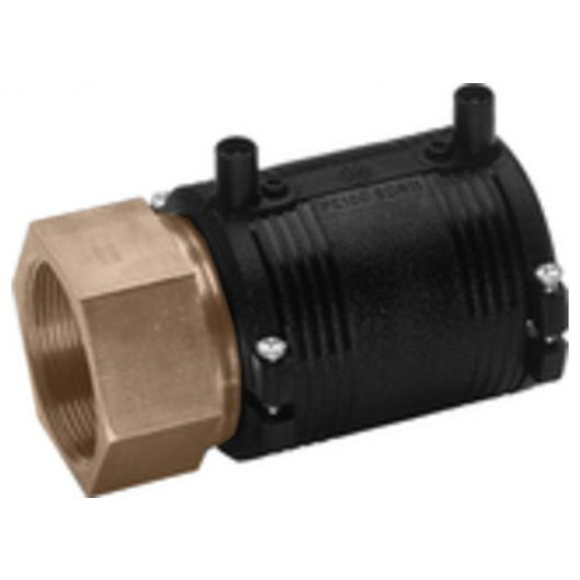 Transition Coupler PE-Brass Female Thread
