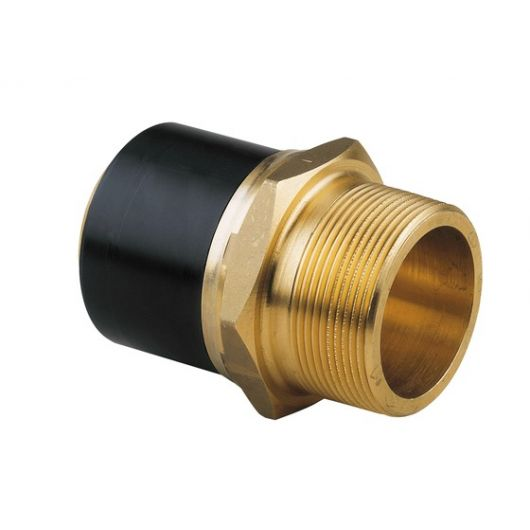 Spigot Adaptor PE-Brass Male Thread