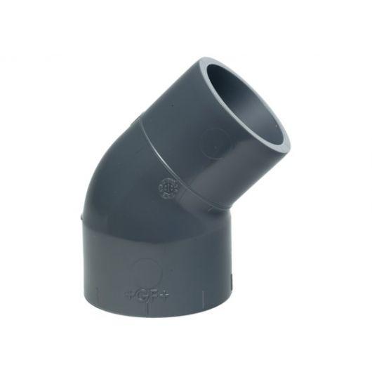 Pro-Fit Elbow 45 Socket And Spigot