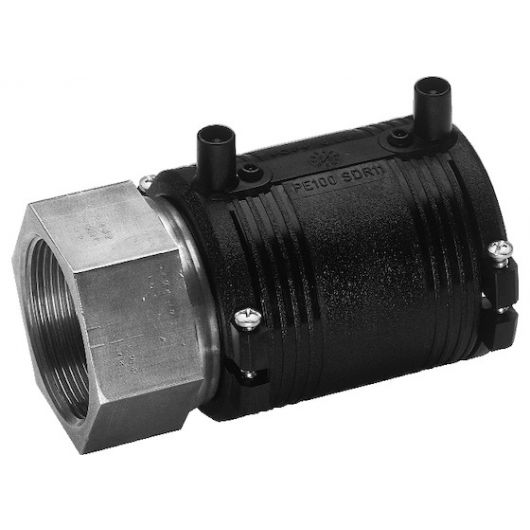 Transition Coupler PE-St.St. Female Thread
