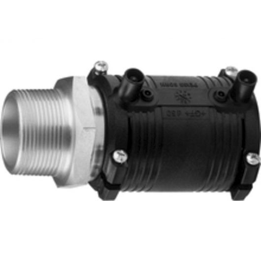 Transition Coupler PE-St.St. Male Thread