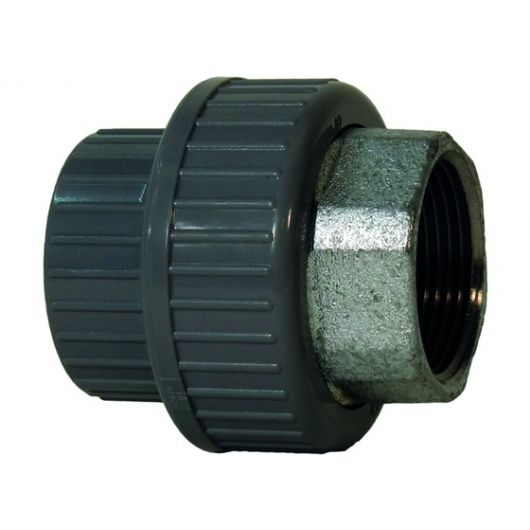 Adaptor Union Female Thread - Galvanised