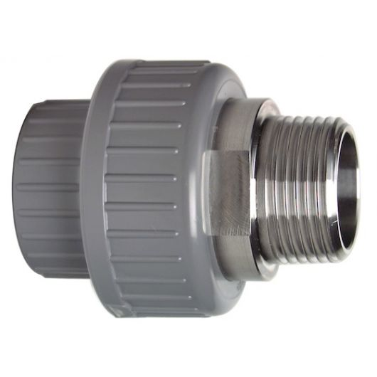 Adaptor Union Male - Stainless Steel