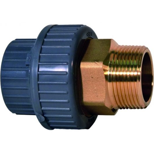 Adaptor Union Male Thread - Brass