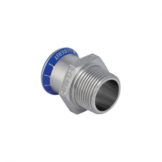 Adaptor with Male Thread (Si-Free)