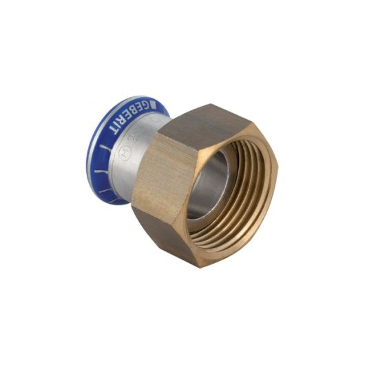 Adaptor with Union Nut (Si-Free)