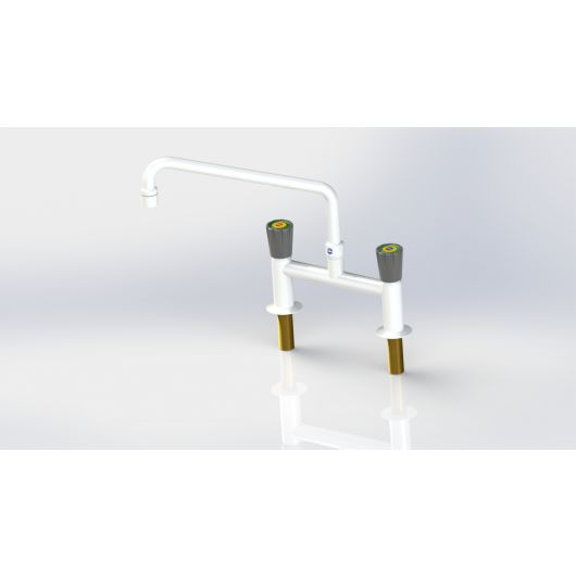 Arboles H' Pattern Mixer Tap With Aerator Nozzle
