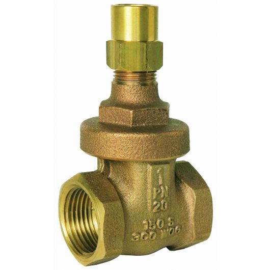 ART375LS Bronze Gate Valve BSP Taper