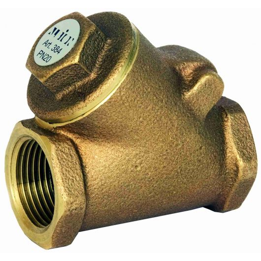 ART384 Bronze Swing Check Valve BSP Taper