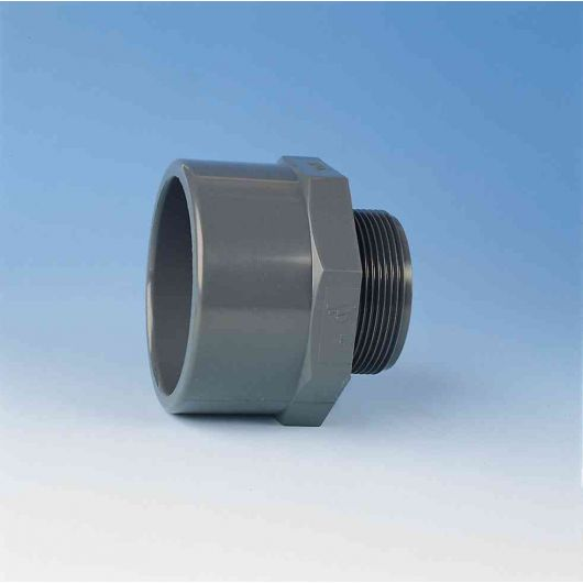 TP PVC-U Threaded Adaptor R