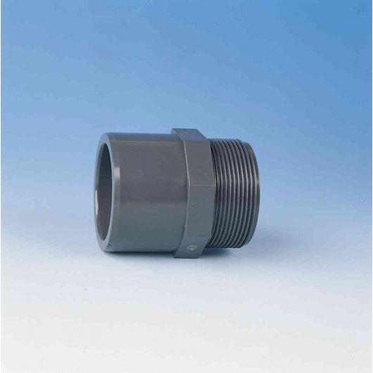 TP PVC-U Adaptor Male Thread