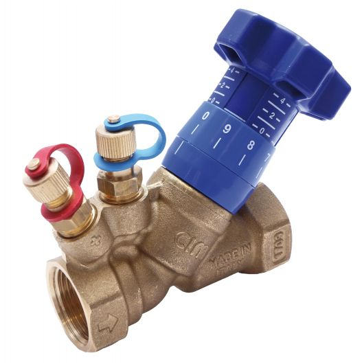 ART22 BSPP DZR Brass Dbl. Reg Valve Fixed Orifice