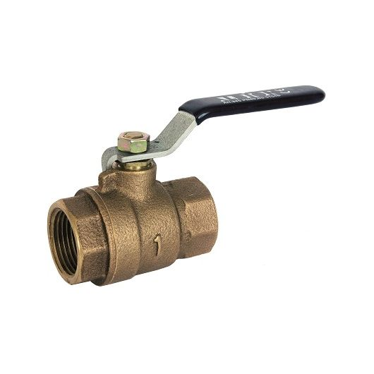 ART345 2 Piece Bronze Ball Valve BSP Taper