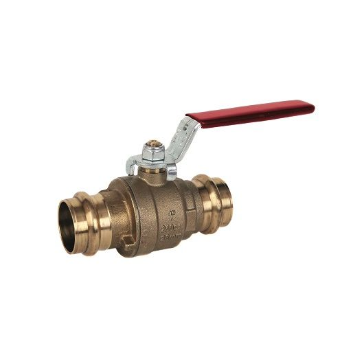 Albion ART55 Red PRESS Ball Valve M Press Fit