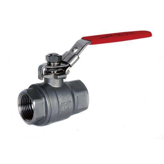 ART902 NPT 2 Piece St.St. Ball Valve NPT