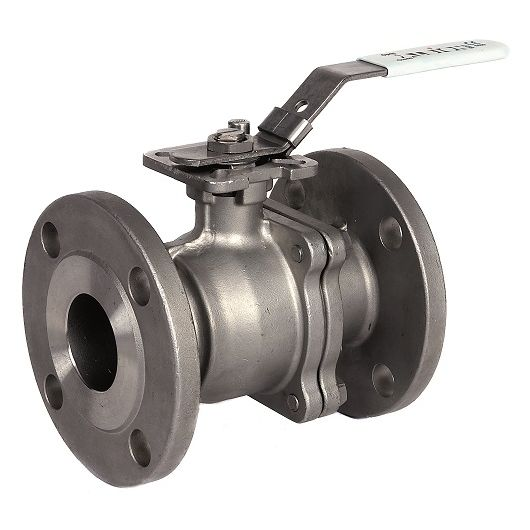 ART928 2 Piece St.St. Ball Valve Flanged