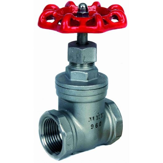 ART960 St.St. Gate Valve BSP Parallel