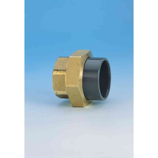 TP PVC-U Composite Union Brass F.I