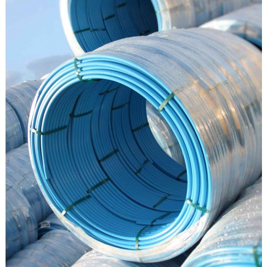 MDPE Blue PIPE Coils