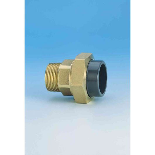 TP PVC-U Composite Union Brass M.I