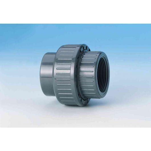 TP PVC-U Union with O-Ring Plain- Threaded