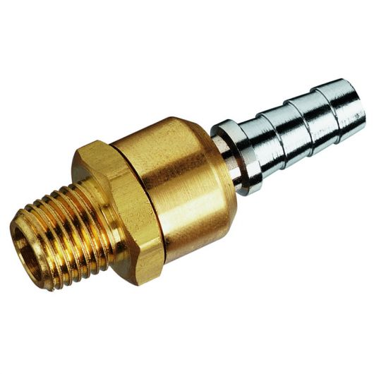 Brass Ball SW Joints Male Thread NPT x Hose Tail