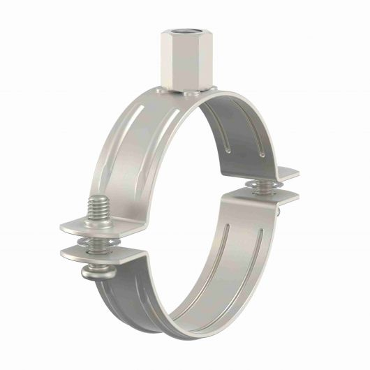 BRS Stainless Steel Unlined Pipe Clamps
