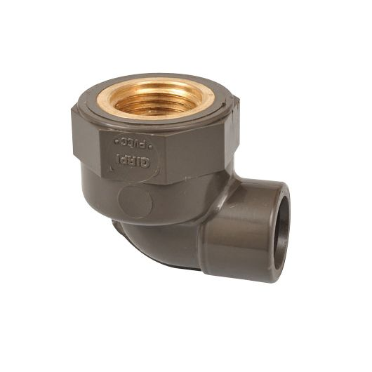 HTA Threaded Elbow 90 Degree Brass Thread