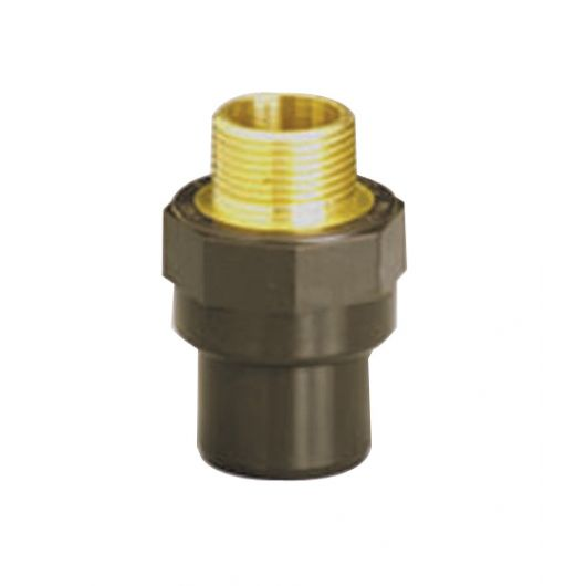 HTA Adaptor Nipple B Brass Male Thread