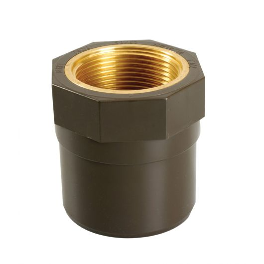 HTA Threaded Adaptor Brass Threaded Female
