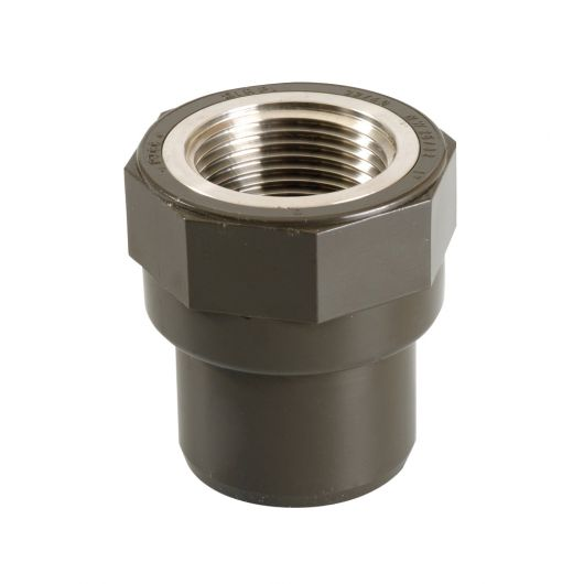 HTA Threaded Adaptor Female St.St. Insert