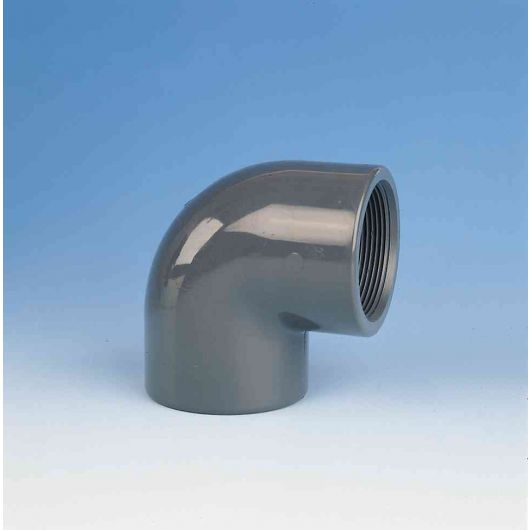 TP PVC-U 90 Degree Elbow Threaded