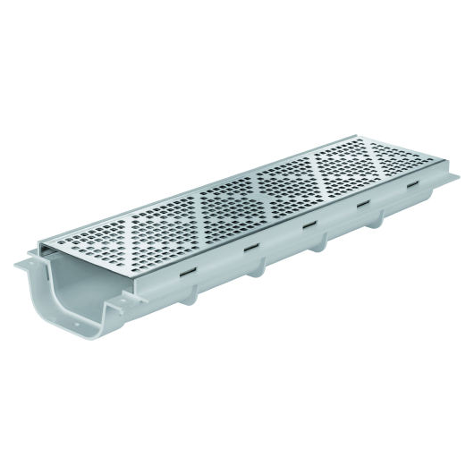 Multikwik Stainless Steel Cover Continuous Channel